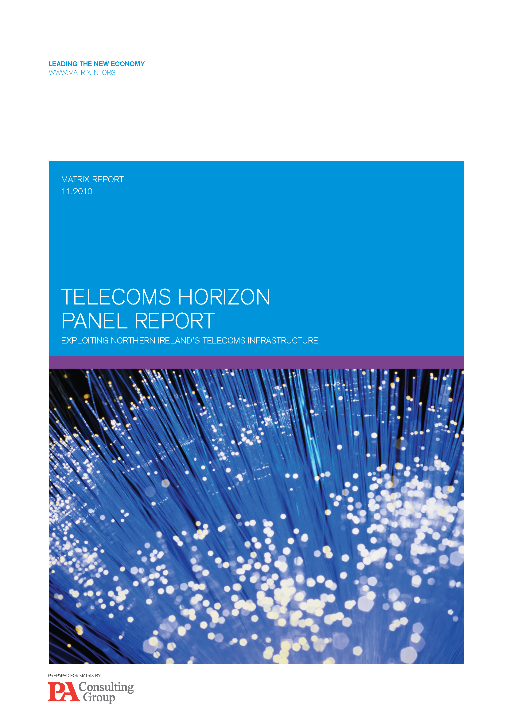 MATRIX Telecoms Report cover