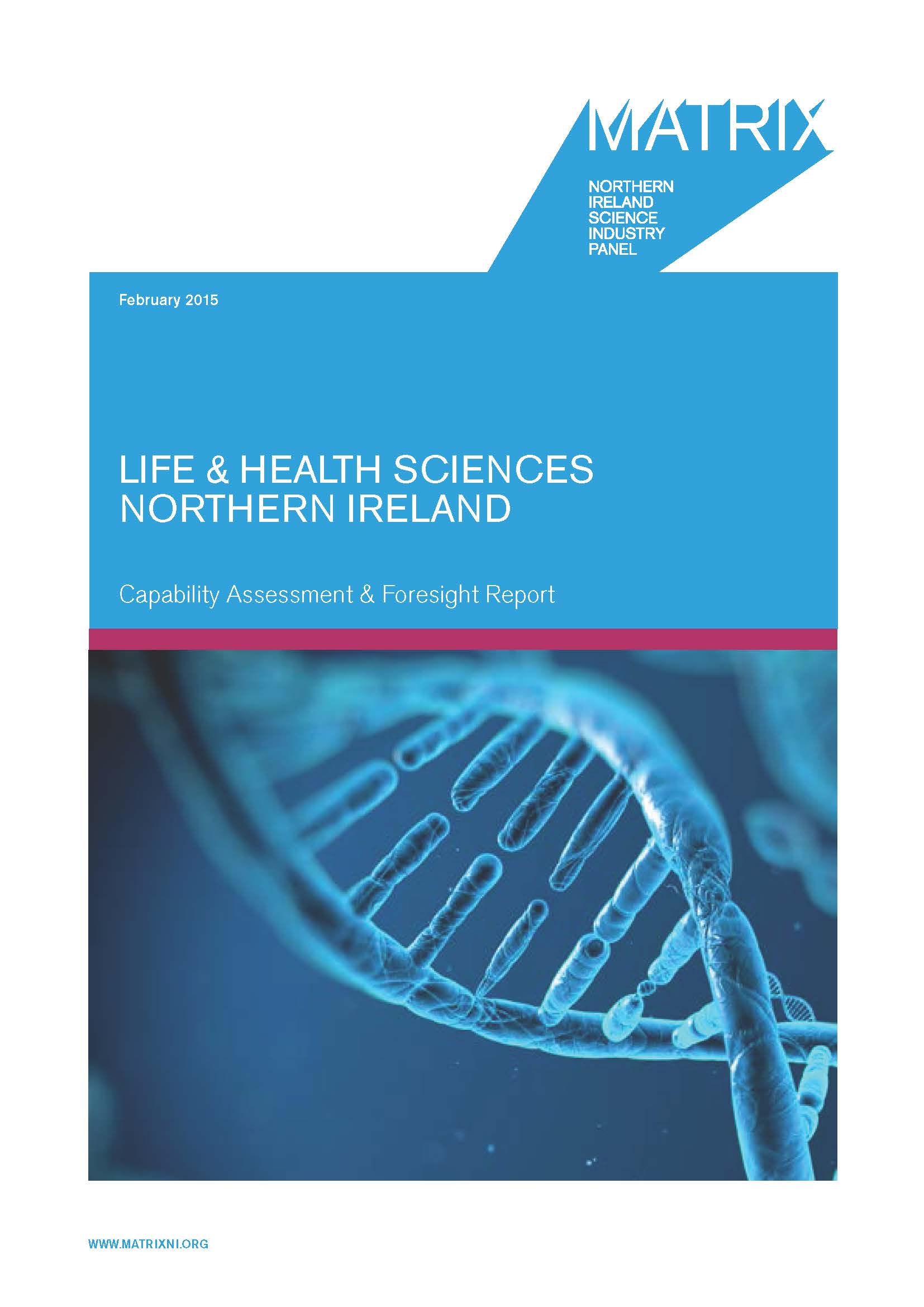 Life and health sciences report 2015