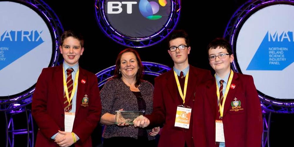 Keady school powers up to win Matrix BTYSTE award