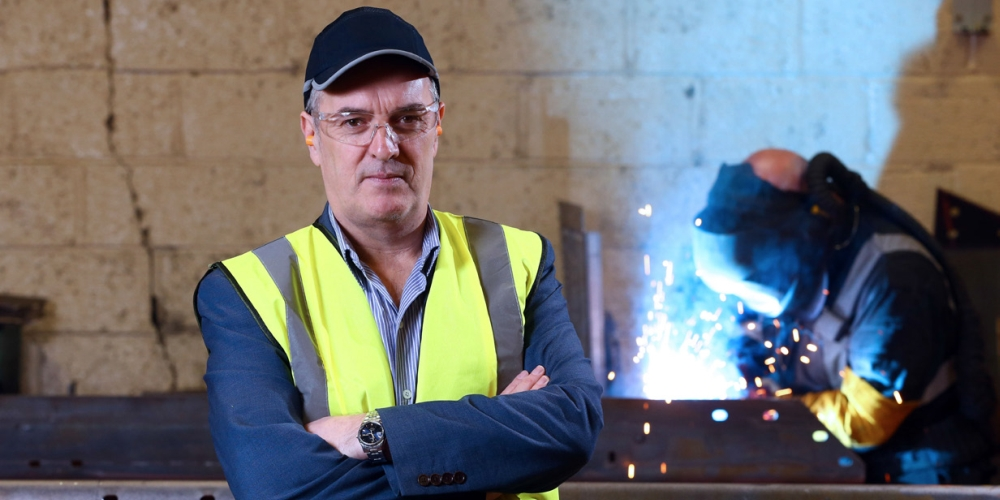 Kieran Hegarty, materials handling & the Tyrone factor