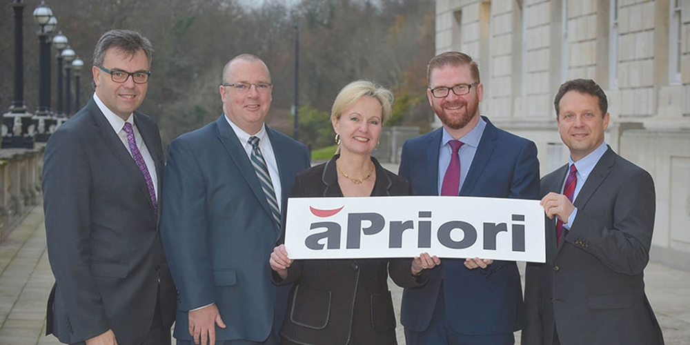 US Investor aPriori Technologies Welcomed to Northern Ireland