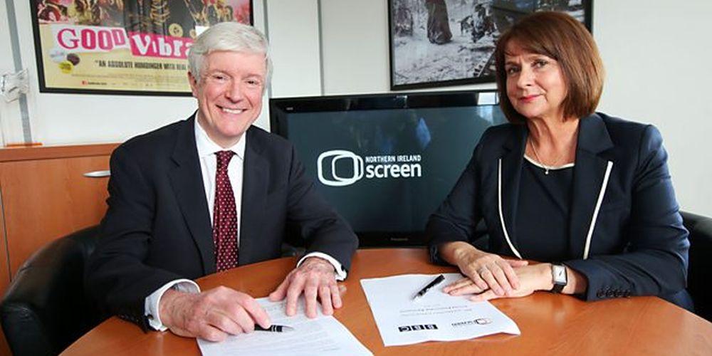 BBC & NI Screen renew partnership agreement