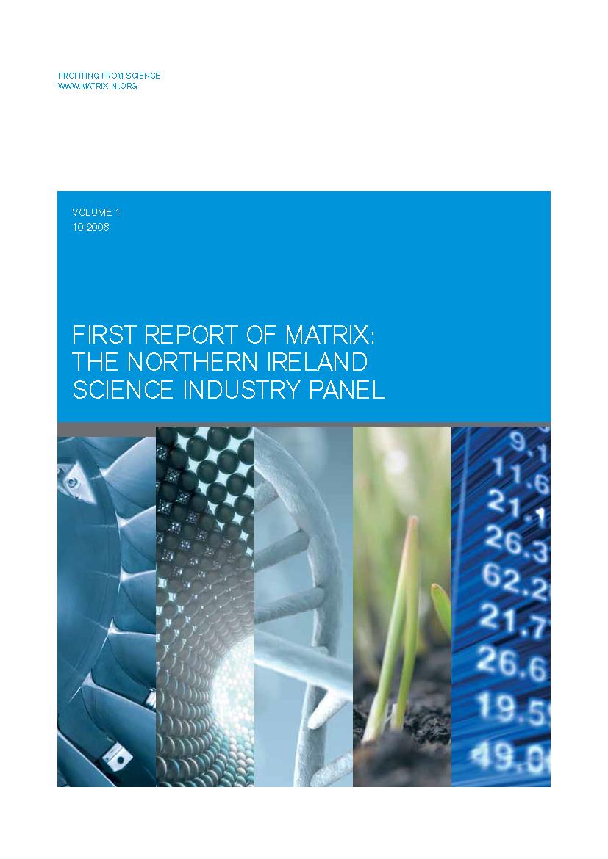 First MATRIX report 2008
