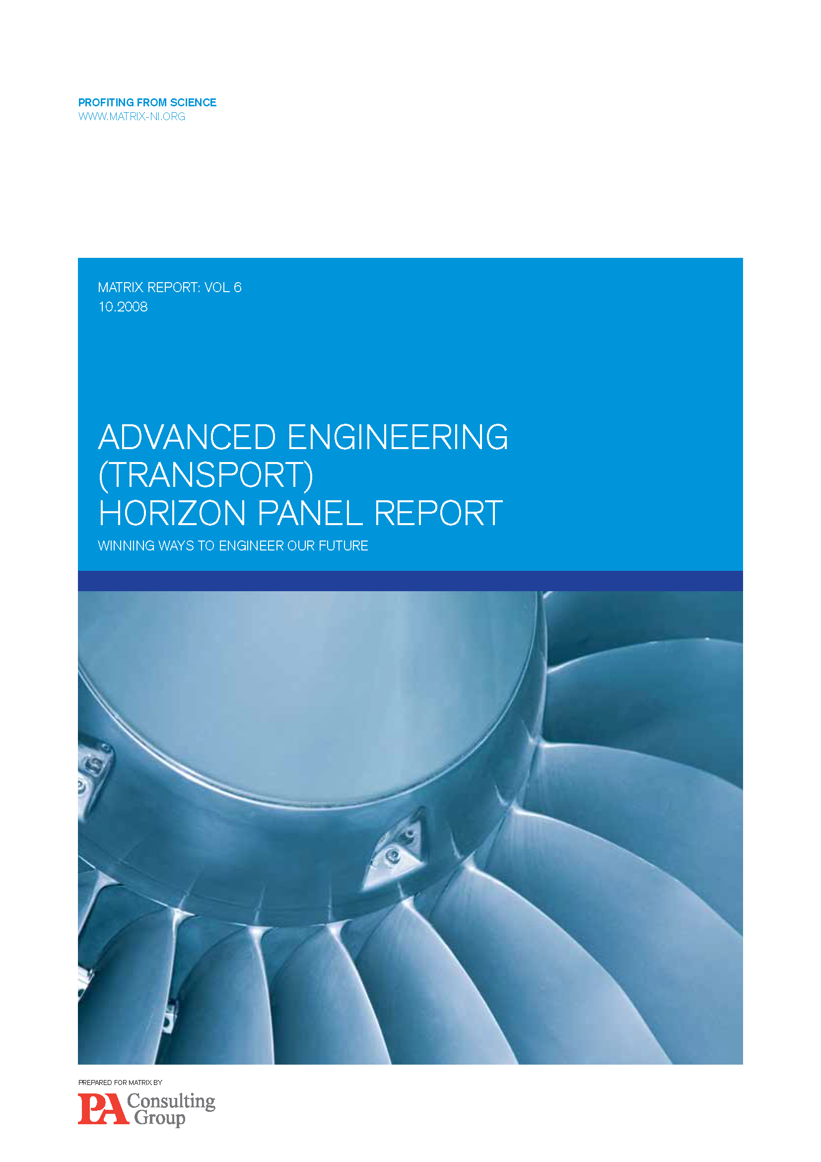 Advanced Engineering (Transport) Report 2008