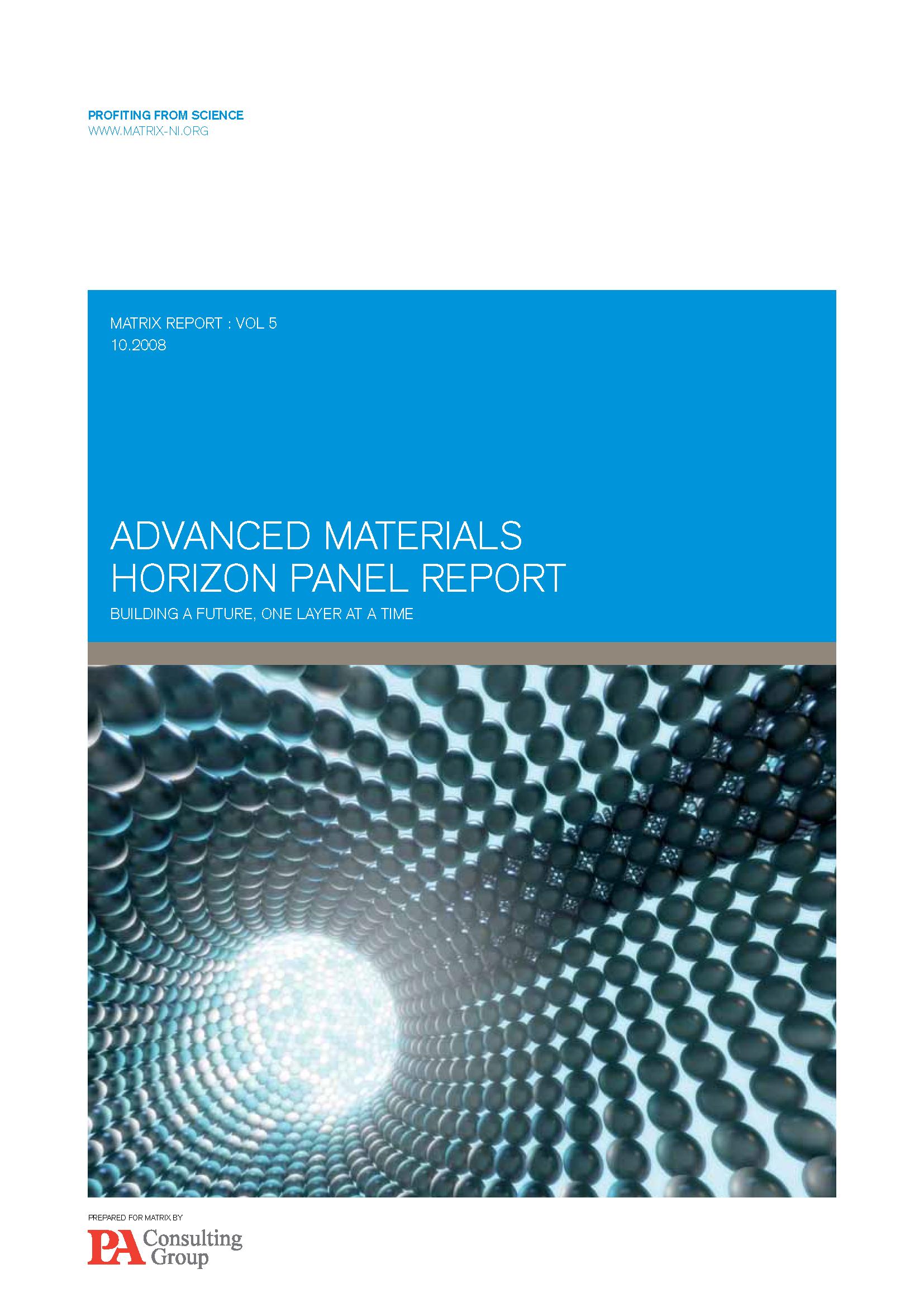 Advanced materials report 2008