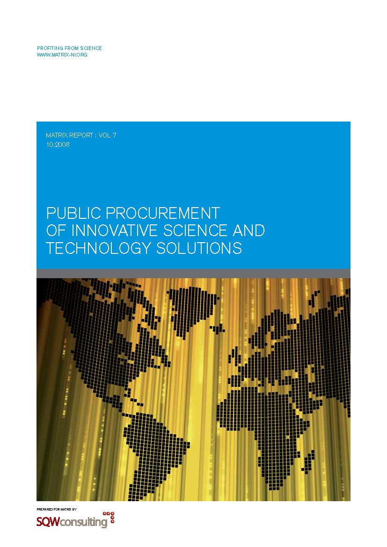 Public procurement report 2008