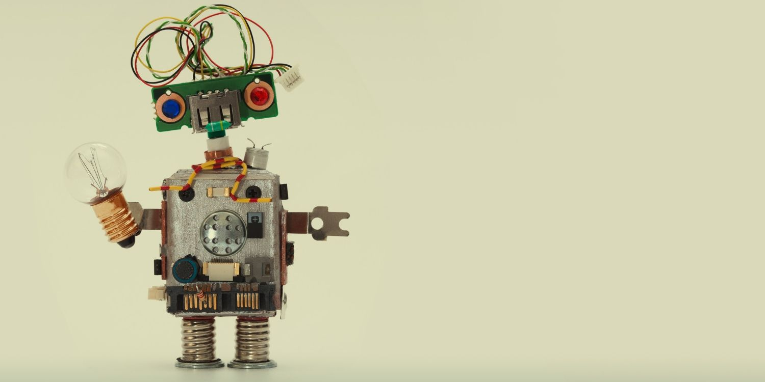 A recycled robot